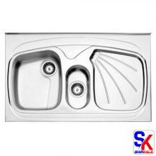 سینک استیل البرز مدل ۶۱۰/۶۰ روکار