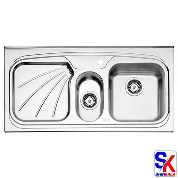 سینک استیل البرز مدل 610/60 روکار