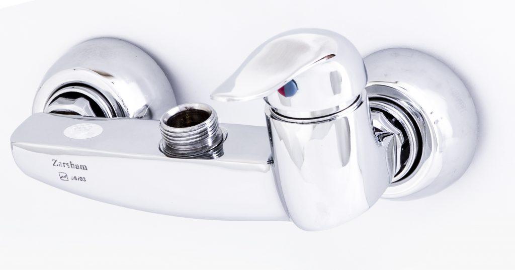 شیر ظرفشویی دیواری اهرمی