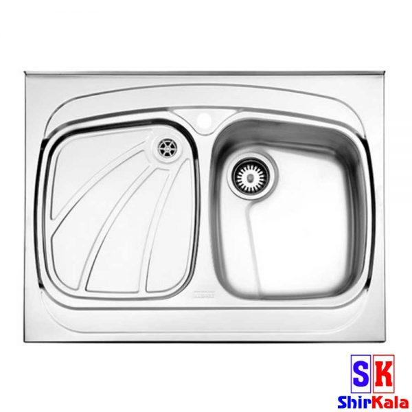 سینک استیل البرز مدل 618/60 روکار