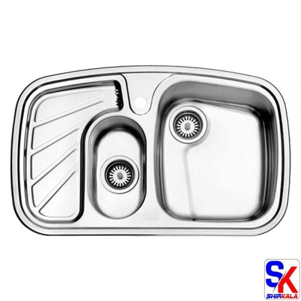 سینک استیل البرز مدل 608/60 روکار
